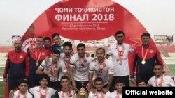 """Команда """"Истиклол"""" в седьмой раз заоевала Кубок Таджикистана. Фото Федерации футбола Таджикистана"""