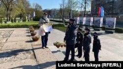 Задержание в День Победы в Пскове