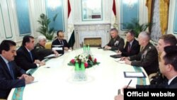Tajikistan -- General James Mattis meets with Tajik President, Dushanbe, 10Feb2011