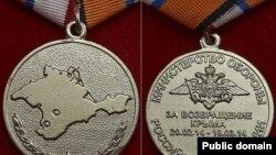 Олександр Франчетті був нагороджений медаллю «За повернення Криму»