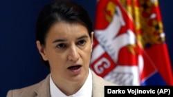 Ana Brnabić. premijerka Srbije