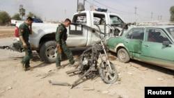 Një nga lokacionet e sulmuara në Kirkuk të Irakut