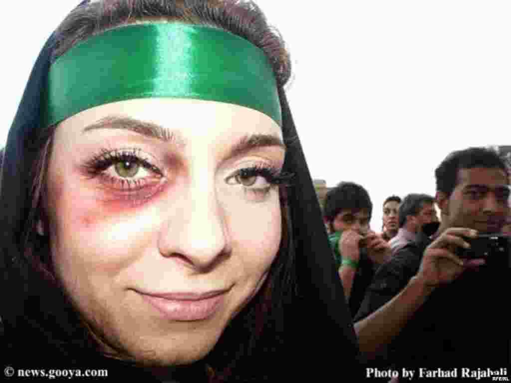 İranda etiraz səsləri yalnız kişilərin deyil #1