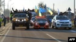 Під час візиту Автомайдану до «Межигір'я» 29 грудня 2013 року