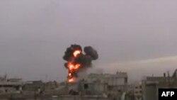 Homs şəhərindən görüntü
