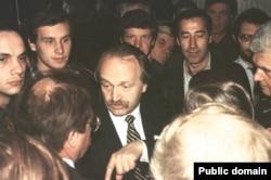 Ukrainian dissident Vyacheslav Chornovil