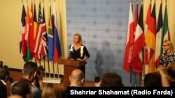 فدریکا موگرینی با «برگشتپذیر» خواندن کاهش تعهدات هستهای ایران بار دیگر از تهران خواست به اجرای کامل برجام بازگردد.