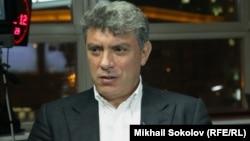Ресейлік оппозициялық саясаткер Борис Немцов.