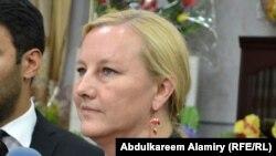 وزيرة التجارة السويدية ايفا بيورلينغ
