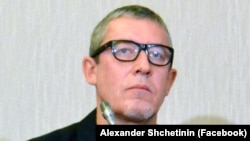 Журналист Александр Щетинин.