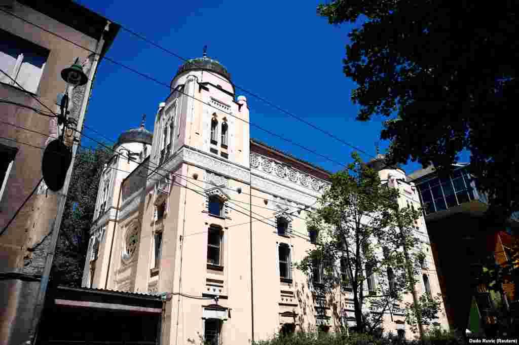 Vanjski izgled Aškenaske sinagoge, Sarajevo