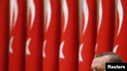 премиерот Реџеп Тајип Ердоган.
