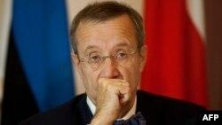 Эстония президенті Тоомас Хендрик Ильвес.