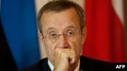 Президент Естонії Тоомас Ілвес (архівне фото)