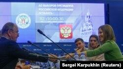 Ксения Собчак подает документы в ЦИК