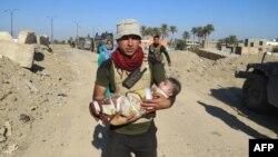 Эвакуация гражданского населения из окрестностей Рамади