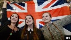 Британи --Референдумо Ингалсенехьа жамI гайтарна реза бу хIара шотландхой, Эдинбург, 19Гез2014