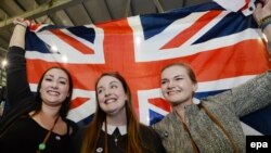 Сторонники сохранения Шотландии в составе Великобритании