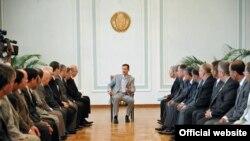بشار اسد، رییس جمهوری سوریه