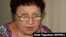 """Галина Потешкина, председатель КСК """"Орбита-1"""". Алматы."""