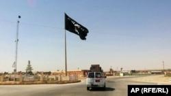 Флаг ИГИЛ. Иллюстративное фото.