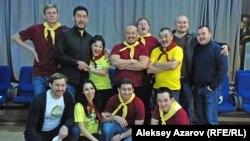 Участники проекта «Еркелаш». Алматы, 16 ноября 2013 года.