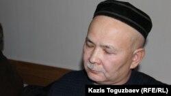 Мұрат Телібеков. Алматы, 8 қаңтар 2016 жыл.
