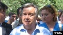 Антонио Гутерриш, верховный комиссар ООН по делам беженцев.