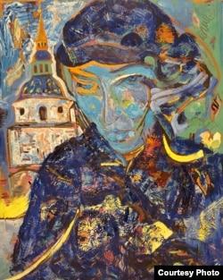 """""""Нарисовано для Валентина"""" – картина Николая Трегуба, 1981"""