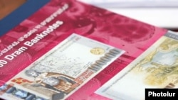 Armenia-- New 100,000-dram banknotes, Aug2009