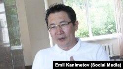 Қырғыз саясаттанушысы Эмил Каниметов.