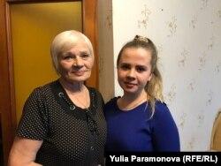 Камила и ее бабушка Надежда Ермоленко