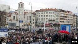 Protest u Sarajevu, Arhiva, 27.02.2007