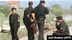 Pripadnici Oslobodilačke vojske Kosova, arhivska fotografija