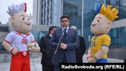 Директор Євро-2012 Маркіян Лубківський на відкритті готелю «Харків палац»
