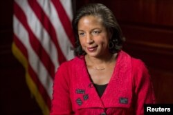 National-security adviser Susan Rice