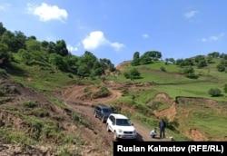 Дорога, ведущая к селу Жазы-Кечуу, 6 июня 2020 г.