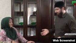 Чеченская колдунья Есимат Успахаджиева