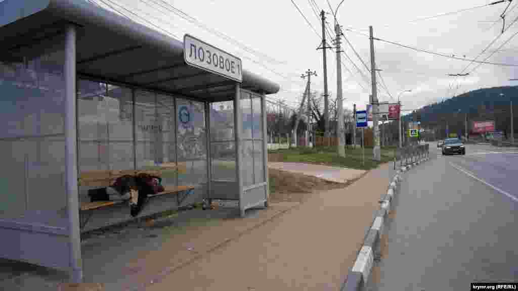 «Тиха година» на автобусній зупинці