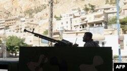 На цьому фото, зробленому 7 вересня 2013 року, в Маалулі ще стояли сирійські урядові війська
