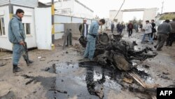 Нападнатиот комплекс во Авганистан.
