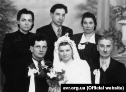 Василь Левкович одружується із Ярославою Романиною. ГУЛАГ, Воркута, 17 лютого 1957 року