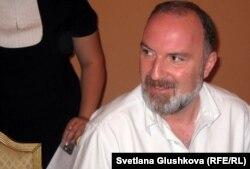 Давид Картвелишвили, продюсер грузинского телеканала PIK. Астана, 3 июля 2012 года.
