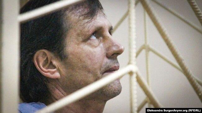 Владимир Балух в суде. Архивное фото