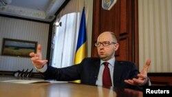 Kryeministri i Ukrainës, Arseniy Yatsenyuk