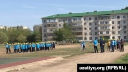 Мероприятие в школе-гимназии в Актобе 16 мая.