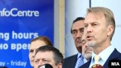 шефот на Делегацијата на ЕУ амбасадорот Аиво Орав