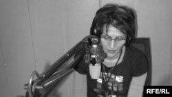 Radio Farda broadcaster Mahin Gorji