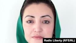 Afghanistan -- Afghan presidential deputy spokeswoman Hadela Raz, 20Mar2013