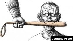Мана Нейестани салған карикатура